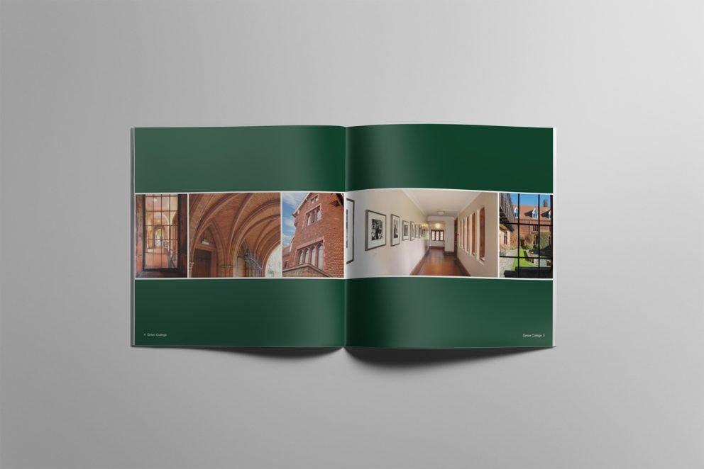 Square booklet design