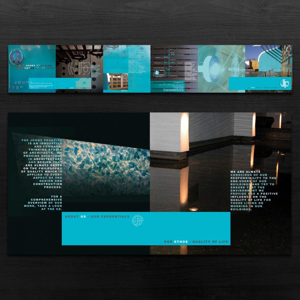 CD insert design work