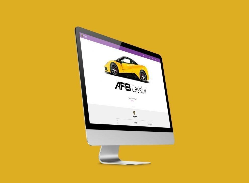 Arash Motor Company - Responsive Website