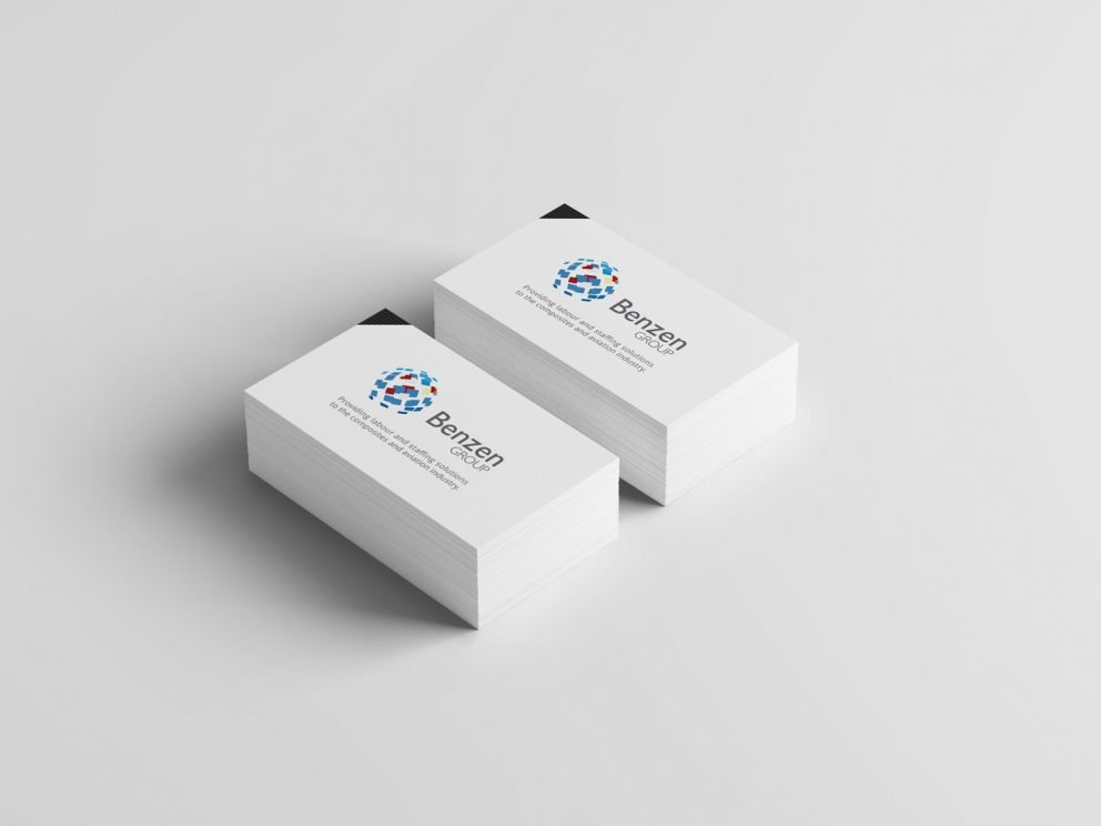 Benzen Group - Business Cards