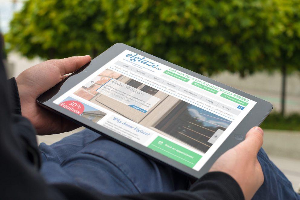 Elglaze Ltd - Responsive Website