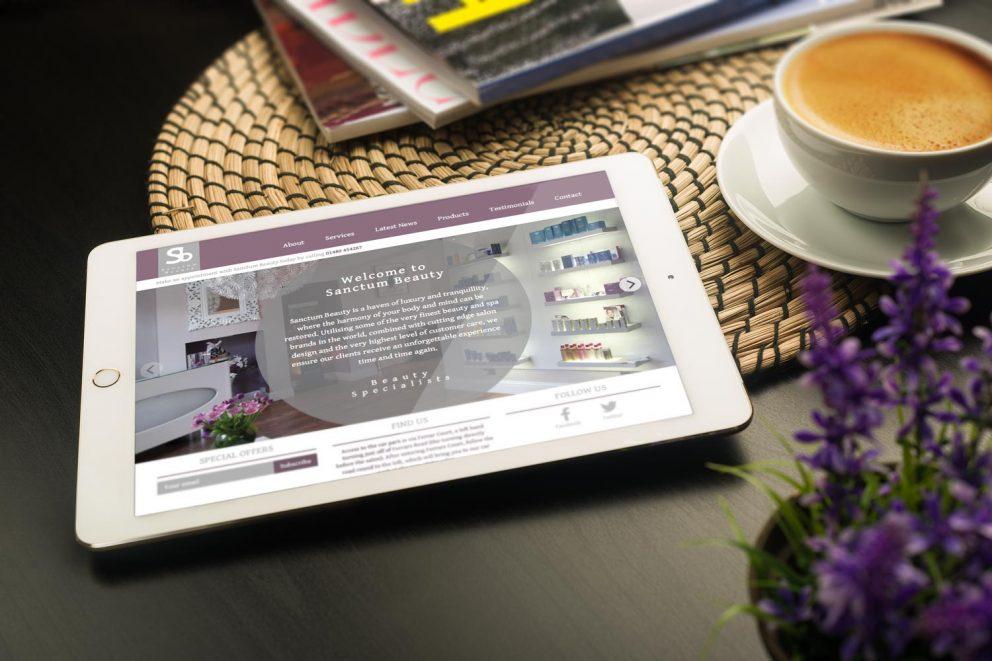Sanctum Beauty Website